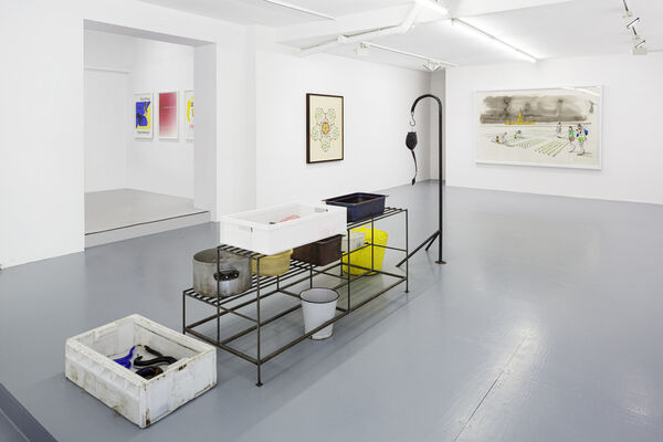 The Taile of the One-Armed Snake, installation view
