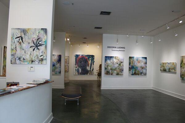 """Deedra Ludwig """"Traversing Between"""", installation view"""