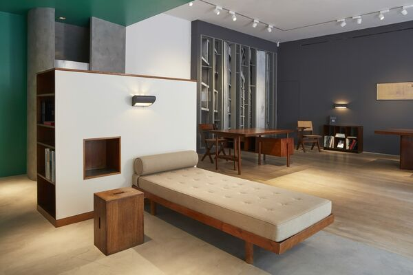 CHARLOTTE PERRIAND, LE CORBUSIER, PIERRE JEANNERET, installation view