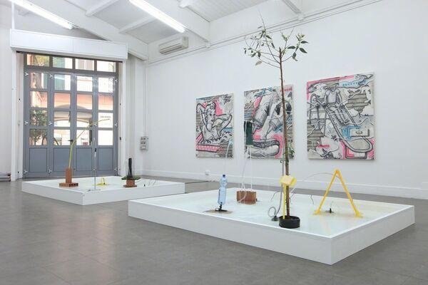 "Josh Reames ""Wet and Wild"", installation view"