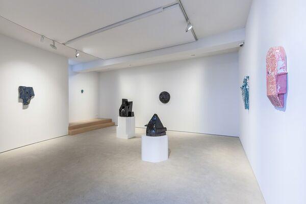 "MICHAEL SAILSTORFER ""TROUBLING MATTER II"", installation view"
