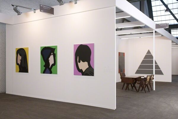 Patrick De Brock at Art Brussels 2016, installation view