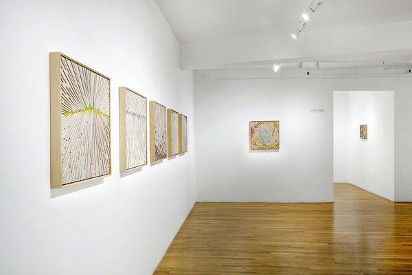 David Poppie: Between Worlds, installation view