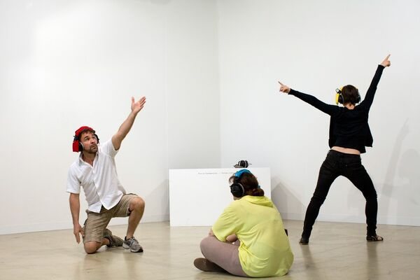 PSM at Art Basel 2014, installation view