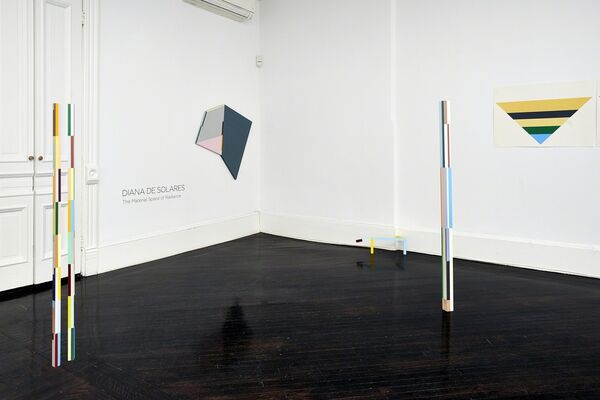 The Material Space of Radiance, installation view