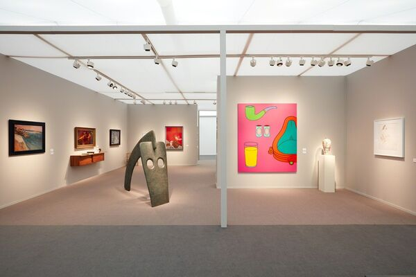 Offer Waterman  at Frieze Masters 2018, installation view