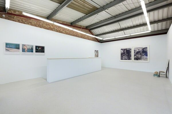 Dash Snow 'Hello, this is Dash' (curated by Annka Kultys), installation view