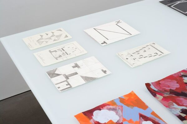 The Drawing is the Movable Feast, installation view