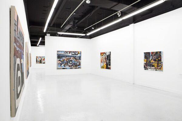 Dim, installation view