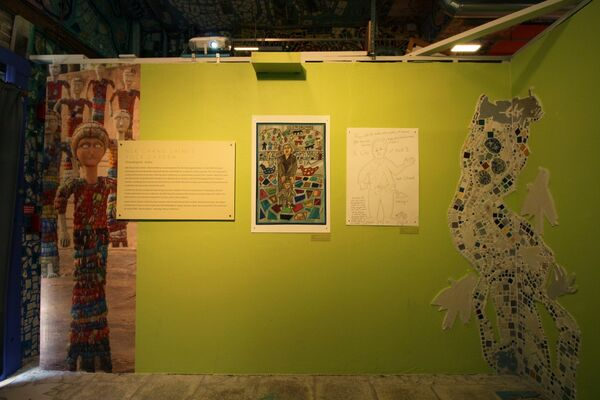 Outsider Inspirations: The Influence of Art Environments on Isaiah Zagar, installation view