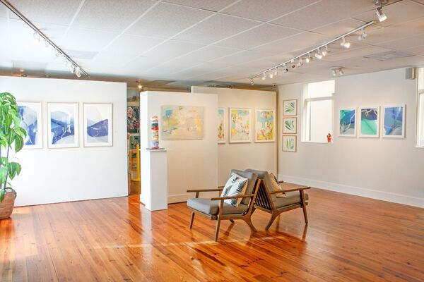 Works on Paper Show, installation view