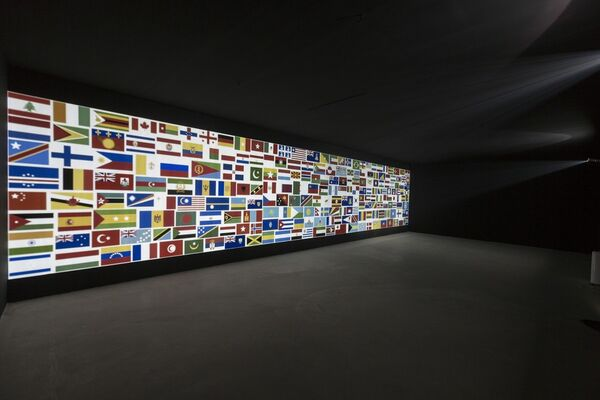 Liang Ban - Landscape Browser, curated by Bao Dong, installation view