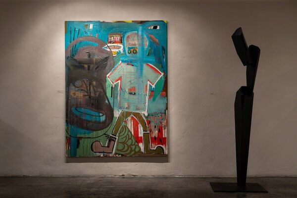 On the Flip Side, installation view