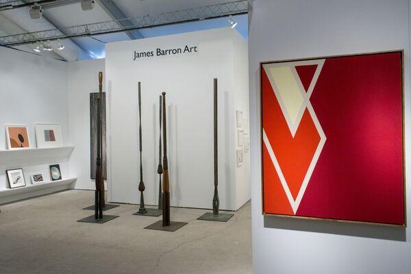 James Barron Art at Art Miami 2016, installation view