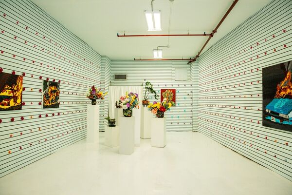 The Hole Presents: Caroline Larsen ON CANAL, installation view