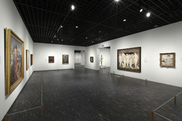 Collection Highlights, installation view