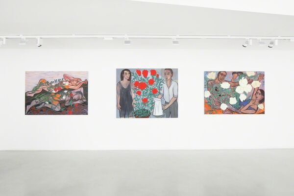 Love-In-Idleness, installation view