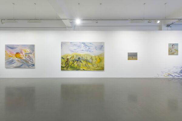 Sophie von Hellermann: New Waves, installation view