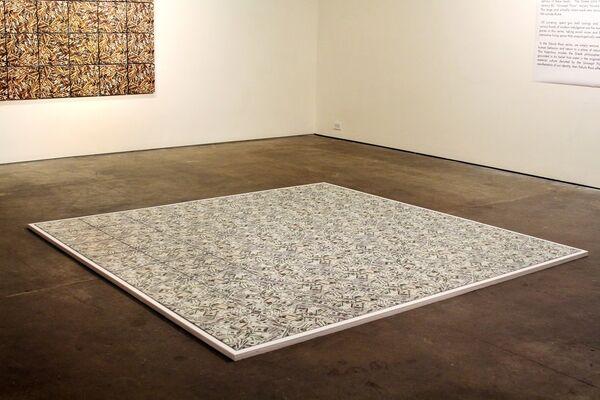 Leslie Lyons and JB Wilson: TABULA RASA, installation view