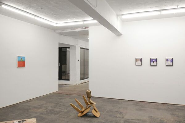 Cécile B. Evans—Hyperlinks, installation view