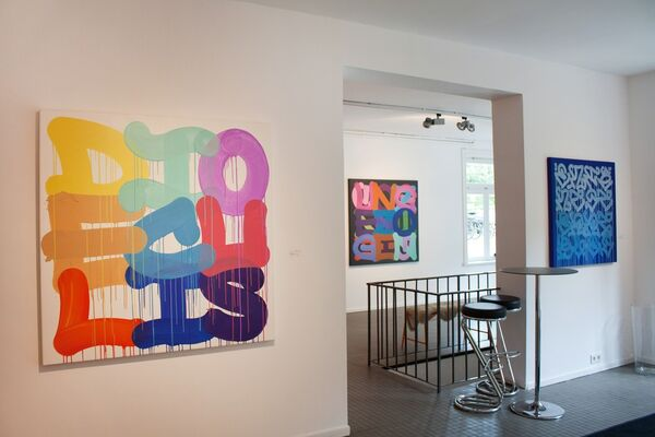 Stohead - Written Abstraction, installation view