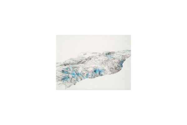 Jowita Wyszomirska: The Distance of Blue, installation view
