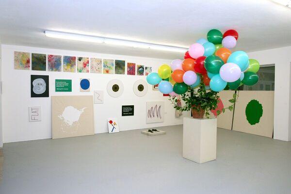 Unpainting, installation view