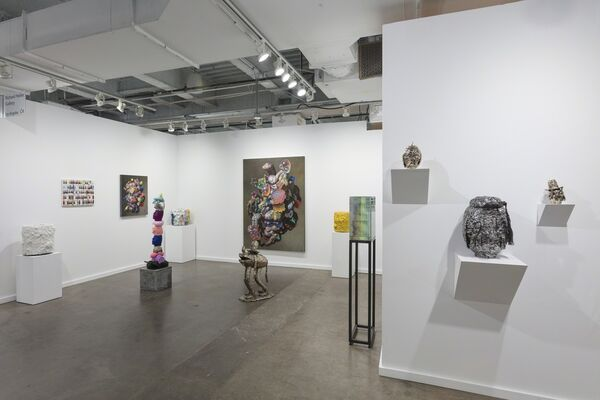 Richard Heller Gallery at Dallas Art Fair 2018, installation view