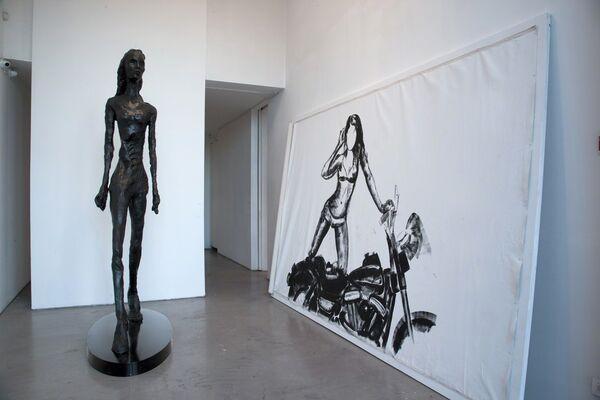 Eran Shakine - Looking at You / Talking to Myself, installation view