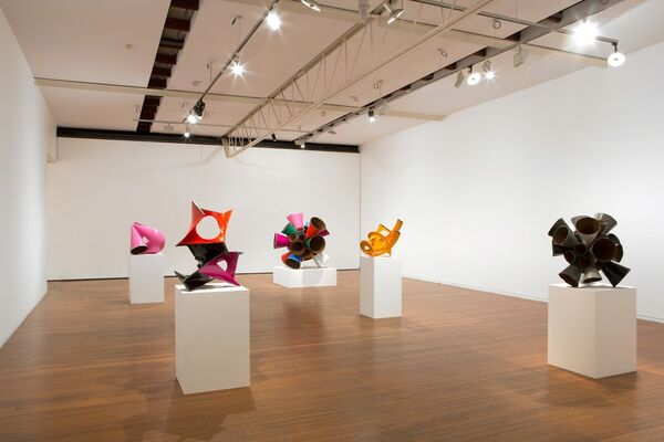 James Angus, installation view
