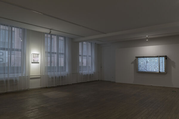 Hu Weiyi | The Window Blind, installation view