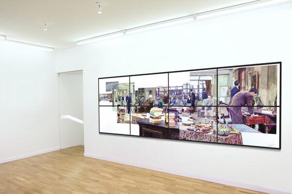 Galerie Claire Gastaud at Art Paris 2020, installation view