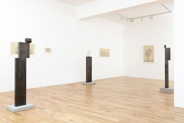 Uncting, installation view