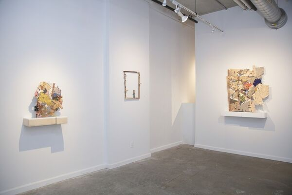 """Helen O'Leary: """"Home is a Foreign Country"""", installation view"""