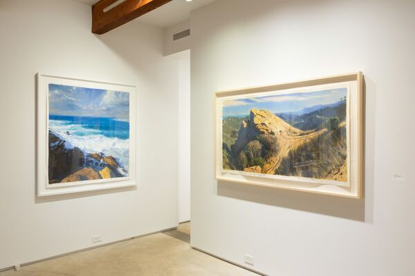 Bob Stuth-Wade: Painting in Earnest, installation view