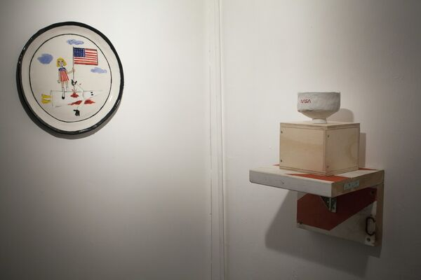 Satan Ceramics, installation view