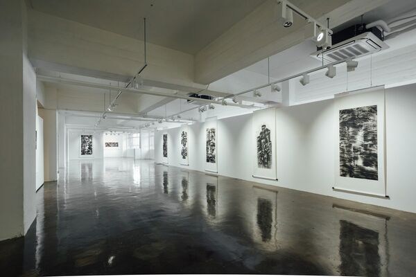 The Serene Path, installation view