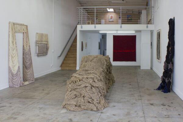 A Crack, A River, A Chasm, A Sliver, installation view