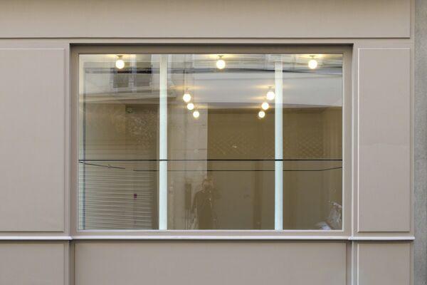"""MEL BOCHNER """"Singer Notes"""", installation view"""