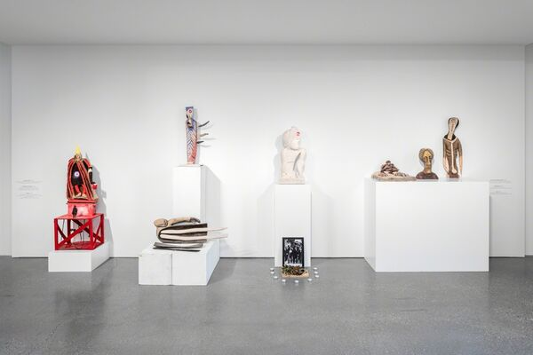 Kurt Hüpfner – Out of the Unknown, installation view