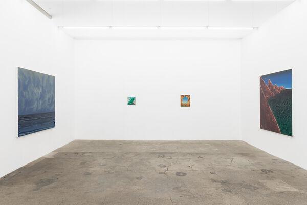 David Borgmann: Festland, installation view