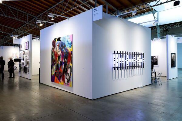 Galerie Krinzinger at viennacontemporary 2018, installation view