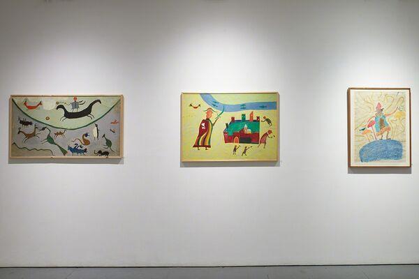 Welcoming the Two Faced Rider: Ilija Bosilj Bašičević, installation view
