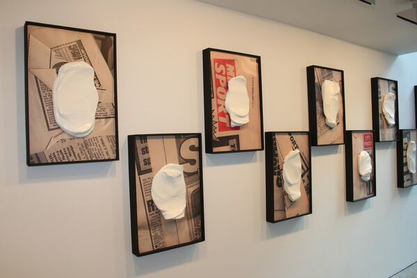 Joe Sweeney: Take Away, installation view