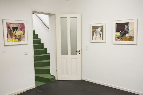 Group Exhibition - The Grass is Green, installation view
