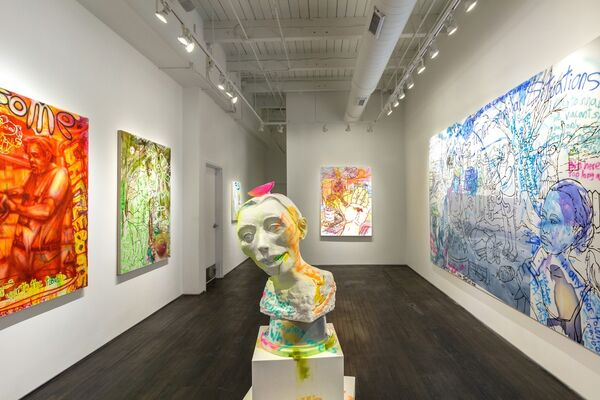 Willie Wayne Smith: Open Book, Thin Air, installation view
