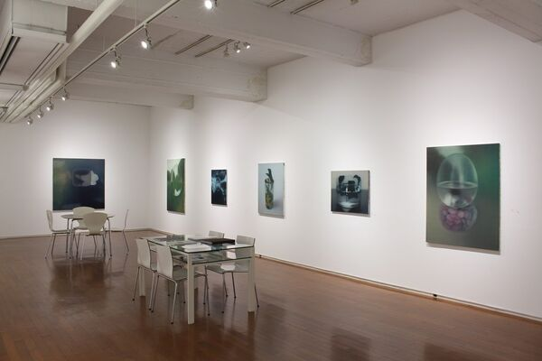 Gallery Tsubaki at Art Central 2016, installation view