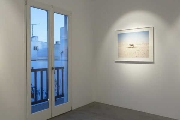 Between, installation view