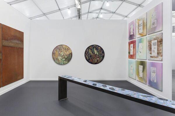 Galerie Eva Presenhuber at Frieze Los Angeles 2019, installation view