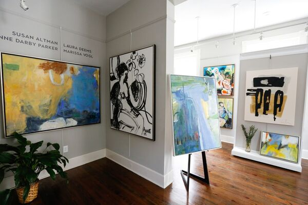 Leave a Mark: An Abstract Group Show, installation view